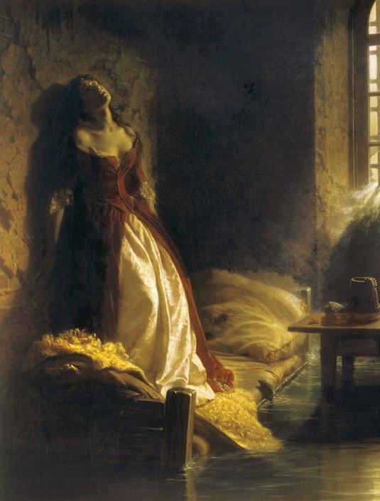 Ce tableau peint en 1864 par Constantin Flavitski représente la légende selon laquelle la princesse Tarakanova fut tuée dans une inondation en 1777.