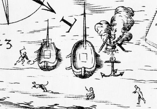 barche e navi Venise 1259