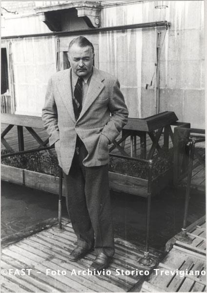 Venezia, Ernest Hemingway