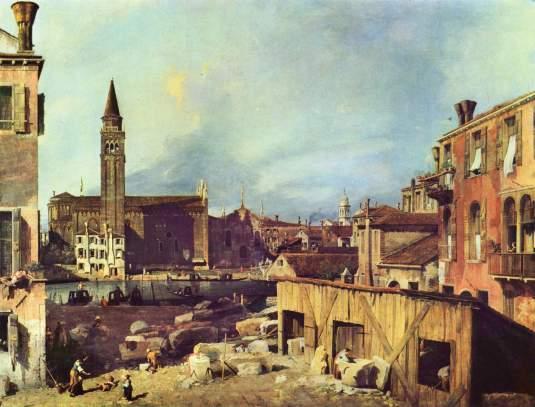 Canaletto - Carita depuis san Vidal