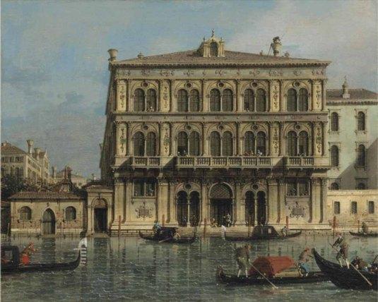 Canaletto - palazzo Loredan Vendramin Calergi