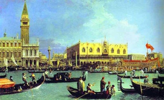 Canaletto,_The_Bucintoro_at_the_Molo_on_Ascension_Day,_c._1732