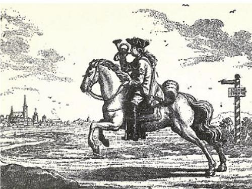 Coursier de la Poste vénitienne