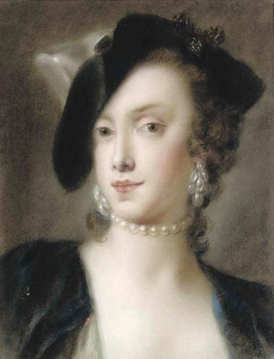 Portrait de Caterina Sagredo Barbarigo par Rosalba Carriera