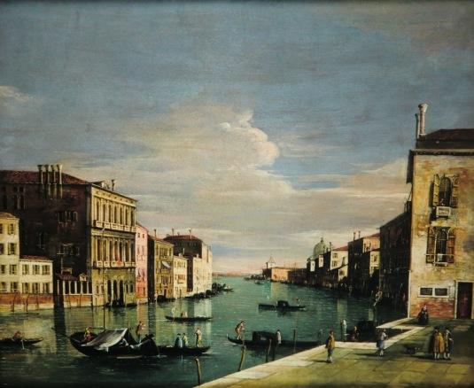 Francesco Tironi - Le Grand Canal vu du Campo San Vio