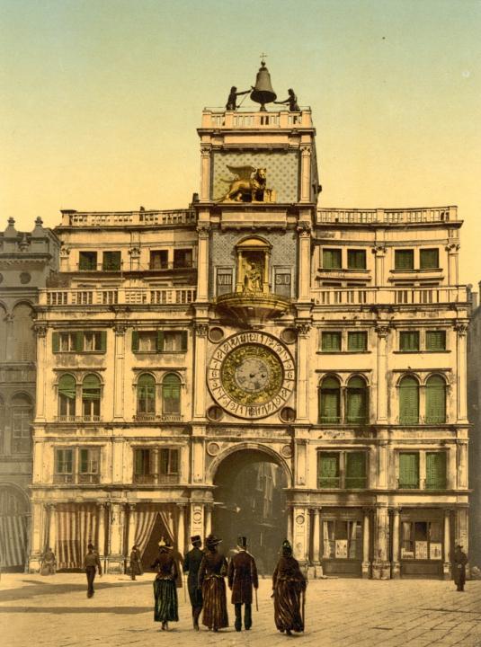 La tour de l'Horloge vers 1900