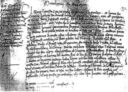 Decreto dell 19 marzo 1474