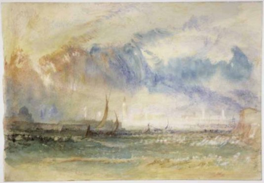 Storm at Sunset - Joseph Mallord William Turner