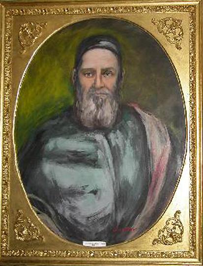 Portrait du patriarche Francesco Antonio Correr  - Ceregato L