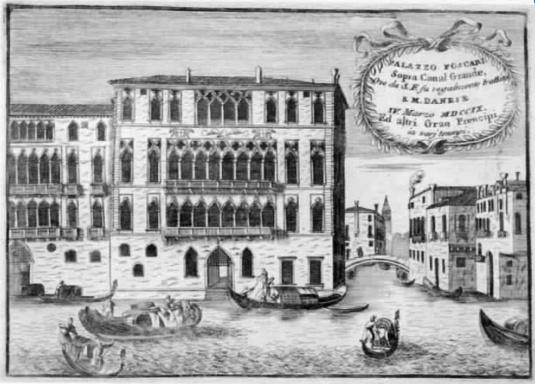 Palazzo Foscari - Coronelli