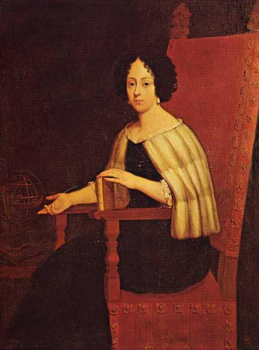 Anonimo: Ritratto di Elena Cornaro, Biblioteca Ambrosiana, Milano