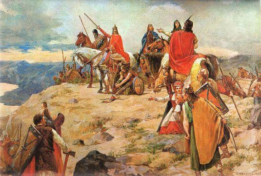 L'arrivée des Croates sur les côtes de l'Adriatique