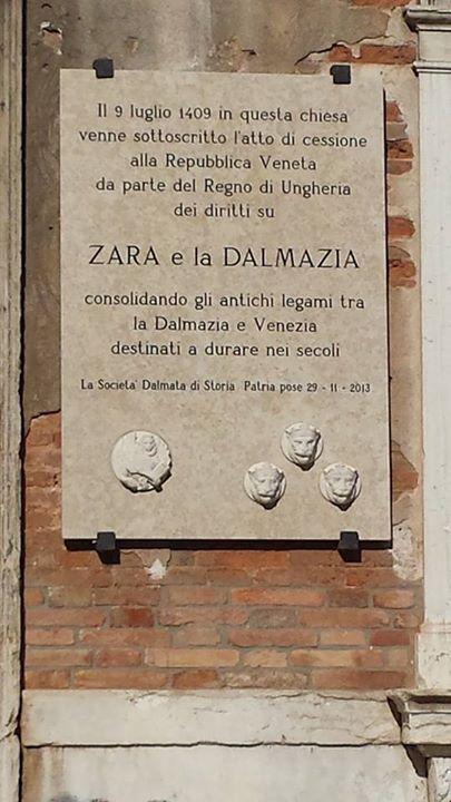 Zara et la Dalmatie 9 luglio 1409