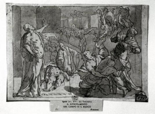 Ritrovamento del corpo di San Marco