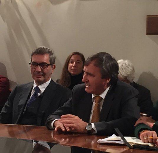 Marco Maccapani et Luigi Brugnaro