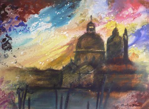 Venise, par Claudine Dossarps