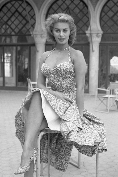 Sophia Loren Olia I Klod